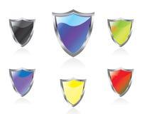 Protetores do vetor Imagens de Stock Royalty Free