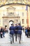 Protetores em mudança Fotografia de Stock Royalty Free