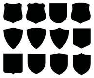 Protetores/etiquetas Imagens de Stock