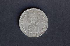 Protetores velhos da moeda 50 Imagem de Stock Royalty Free