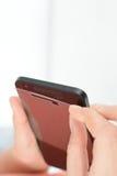 Protettore dello schermo di Smartphone Fotografie Stock