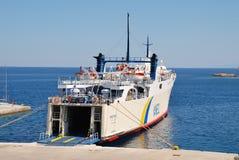 Proteus ferry, Patitiri Royalty Free Stock Image
