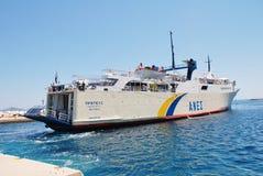 Proteus ferry, Patitiri Stock Image