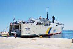 Proteus ferry, Patitiri harbour Stock Images