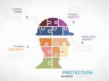 protezione illustrazione vettoriale