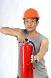 Protezione antincendio Immagine Stock