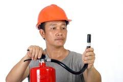 Protezione antincendio Fotografia Stock