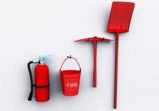 Protezione antincendio Fotografia Stock Libera da Diritti