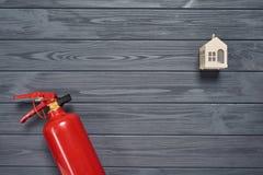 Protezione antincendio della residenza fotografia stock libera da diritti