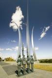 Protezione Bronze di onore Fotografia Stock Libera da Diritti