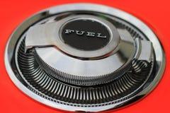 Protezione classica del combustibile dell'automobile Fotografia Stock