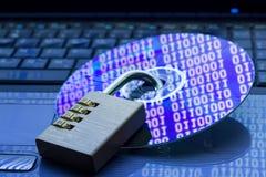 Protezione dei dati Immagine Stock