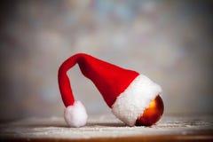 Protezione del Babbo Natale Fotografia Stock