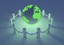 Protezione del pianeta Immagine Stock