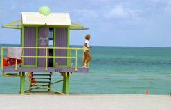 protezione del sud della spiaggia Fotografie Stock Libere da Diritti