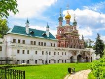Protezione del Theotokos e del Maria& x27; camere di s, convento di Novodevichy, Mosca, Russia Fotografie Stock