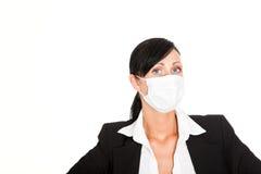 Protezione del virus di affari Fotografia Stock
