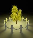 Protezione dell'albero Immagini Stock