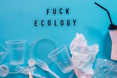 Protezione dell'ambiente di ecologia di inquinamento delle acque immagini stock libere da diritti