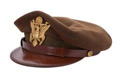 Protezione dell'ufficiale della seconda guerra mondiale Immagine Stock