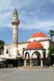 Protezione della moschea (1725) sull'isola di Kos Fotografie Stock