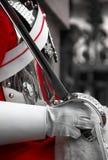Protezione di cavallo reale, Londra Fotografie Stock