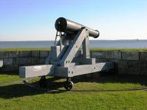 Protezione di condizione del cannone. fotografie stock