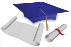 Protezione di graduazione Immagini Stock