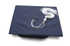 Protezione di graduazione isolata Fotografie Stock