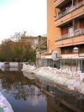 Protezione di inondazione fotografie stock libere da diritti