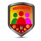 Protezione di Internet Fotografie Stock