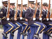Protezione di onore dell'esercito di Stati Uniti Immagine Stock