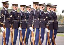 Protezione di onore dell'esercito di Stati Uniti Immagini Stock Libere da Diritti