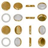 Protezione di parte superiore dell'oro illustrazione di stock