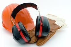 Protezione di sanità e sicurezza al workplace-1 Fotografia Stock