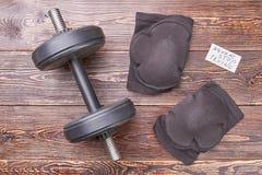 Protezione di sicurezza per addestramento fisico duro Fotografie Stock