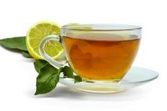 Protezione e limone del tè immagini stock libere da diritti