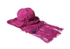 Protezione e sciarpa Fotografia Stock
