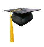 Protezione e Tassle di graduazione Fotografie Stock