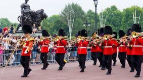 Protezione reale britannica di onore Fotografie Stock