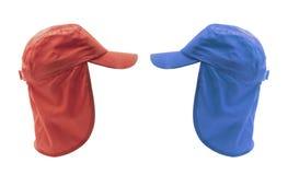Protezioni con i cappucci Fotografia Stock