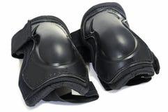 Protezioni del ginocchio Fotografia Stock