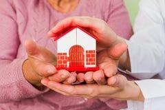 Protégez votre maison Photo stock