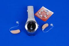 Prothèse auditive moderne. Photos libres de droits