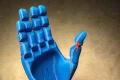 Prothetische Hand Stockfotos