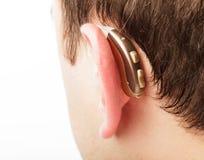 Prothèse auditive Image stock