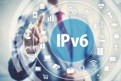 Protocole réseau IPv6 Photos stock