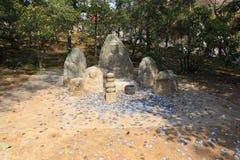 protokół z kioto kinkakuji pawilonu złota świątynia Obrazy Stock
