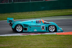 Prototipo 1987 del grupo C de Porsche 962 en Monza Fotos de archivo