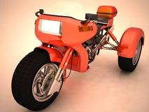 Prototipo del triciclo Fotografía de archivo